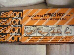 VINTAGE SALTON HOT TRAY BOXED with INSTRUCTIONS