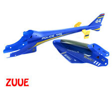 E-Flite Compelte Body Set for BCX - Police 995 Blue Helicopter Shell - EFLH1232