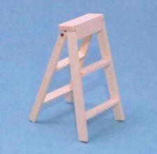 Piccolo pieghevole in legno passi, DOLL HOUSE miniatura passo diagramma Ladder, scala 1.12