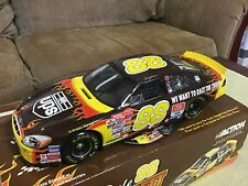 2001 Action DALE JARRETT #88 UPS Flames Race The Truck 1/18 SCALE Diecast