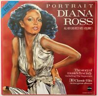 DIANA ROSS PORTRAIT ALL HER GREATEST HITS VOL. 1 LP NEAR MINT PRO CLEANED