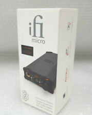 iFi Audio Micro iDSD Black Label DAC and Headphone Amplifier Brand New