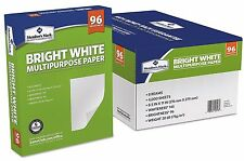 Letter Size Printer Copy Paper Printing Fax  8.5 x 11(8 Reams = 4000 Sheets) NEW