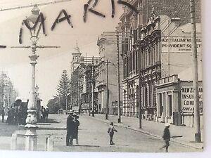 ANTIQUE VINTAGE PHOTO POSTCARD OLD ST GEORGES TCE PERTH WESTERN AUSTRALIA WA WA