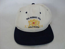 Vintage 1996 Primary Open Philip Morris Snapback Hat (By YoungAn)