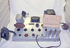 Magnavox Mono Tube Amplifier Model 116C - (4) 6V6, 5Y3