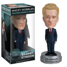Talking Funko Barney Stinson How I Met Your Mother bobblehead pop wacky wobbler
