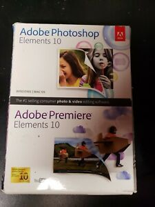 Adobe Photoshop Elements and Premiere Elements 10 PC and MAC OS
