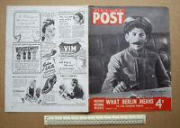 1945 Home Front Picture Post Wartime Photo-News Magazine V26#7 Hulton Press