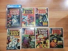 GHOST RIDER #1-7 ORIGIN OF THE Ghost Rider 1967  #1 cgc 2.5 marvel comics