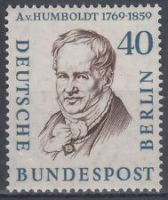 Germany Berlin 1957 ** Mi.171 Persönlichkeiten Personalites   Frh. von Humboldt