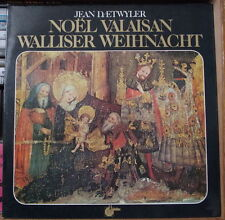 JEAN DAETWYLER NOËL VALAISAN COVER FRENCH LP UNIDISC
