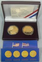 2001 HAWAII Gold/Copper 2 coin set w/BOX & COA #008718