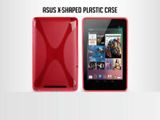 Soft Plastic Case Cover For Google Nexus 7 Asus(2012) X-Shaped Pink