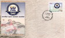 Briefmarken mit Fußball Motive aus Korea