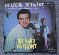 Richard Anthony, la leçon de twist,  EP - 45 tours