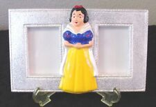 New Unique Handmade 2 Pic Picture Photo Memory Frame with Easel Snow White