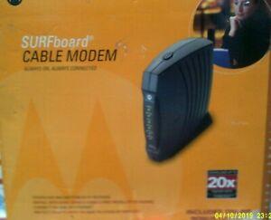 Motorola SURFboard SB5120 (505788-006-00) 38.91 Mbps Cable Modem Retail box