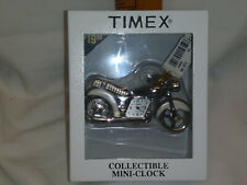 Timex Motorcycle Mini Clock Collectable N.I.B.