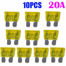 10pcs New 20A Color Coded Standard ATO/ATC Blade Fuse Fit For Auto Car Truck