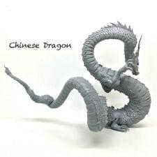 Resin Figure Kit 90mm Chinese Dragon Unpainted Model Kit