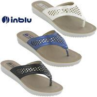 846f30c1060693 Womens Soft Flip Flop Sandals Inblu Toe Post Jewelled Cushioned Soft Beach  Flats