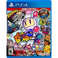 Super Bomberman R Shiny Edition(Sony PlayStation 4 PS4) Brand New Factory Sealed