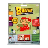 Super Mario Classic Jumping 8 Bit Sticky Note Art Kit NEW IN STOCK