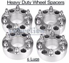 "4x 6x5.5 Wheel Spacers Fits Toyota Pickup Trucks Adapters 6 Lug Heavy Duty 2"""