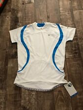 Pearl Izumi Women's Select CS 3/4 Zip Jersey Blue White Sz XL New With Tags