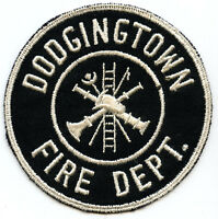Dodgingtown Fire Department Embroidered Shoulder Patch