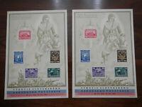 Czechoslovakia 1945 Widows and Orphans Liberation Souvenir Sheet