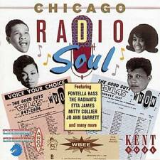 CHICAGO RADIO SOUL Various NEW & SEALED 60s SOUL R&B CD (KENT) NORTHERN SOUL
