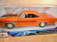 MAISTO SPECIAL EDITION 1970 PLYMOUTH SCALE  DIE-CAST