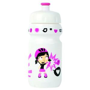 Zefal Little Z Girl Bicycle Bottle with Universal Clip Pink/White 350ml