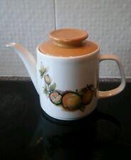 J & G Meakin Tea Pot Eden pattern. Retro / Vintage Meakin.