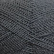 Patons Patonyle Merino 4 Ply #1005 Dark Grey Sock Yarn 50g