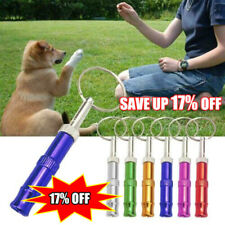 Sliver Dog Trainer Obedience Whistle Pet Pitch Supersonic