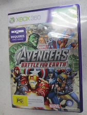 Marvel Avengers: Battle for Earth Xbox 360 Game PAL Requires Kinect Sensor