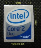 10 pcs Centrino 2 vPro sticker logo badge 16mm x 20mm