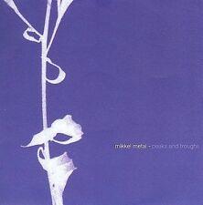 MIKKEL METAL Peaks And Troughs CD NEW Echocord Denmark cd04 dub techno minimal