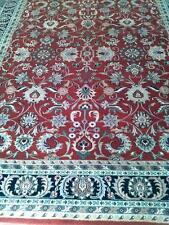 Hand Knotted All-Over Pattern Sabari Kashan Rug Rich wool 8'x10'