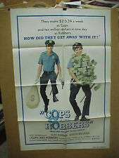COPS AND ROBBERS, nr mint orig 1-s / movie poster [Cliff Gorman, Joseph Bologna]