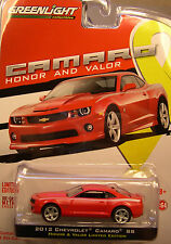 RED 2012 CHEVROLET CAMARO SS SIX 6 X GREENLIGHT 1:64 SCALE DIECAST METAL CARS