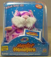 GANZ Webkinz PIXIE MAZIN' HAMSTERS Toy Pink & Purple NIB Sealed Code WE000771