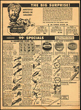 1959 vintage ad, Fishing Flies and Lures .99cents!, The Conrad Co. -032813