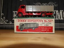 Dinky #511 Guy Warrior Lorry red brown v/good condition boxed