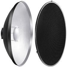 Neewer Photo Strobe Flash Light Reflector Beauty Dish with Honeycomb Grid, Scrim