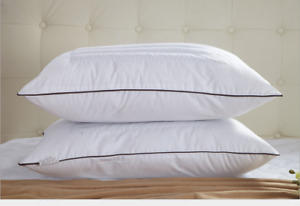 Home Goods Buckwheat Pillow Core with Hypoallergenic Cotton Pillowcase-Standard