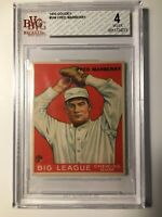 1933 Goudey #104 FRED MARBERRY RC BVG 4 VG-EX DETROIT TIGERS PSA FRESH GRADED